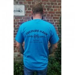 T-shirt Veedubs Haus bleu...