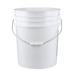 seau blanc 5 gallons (19L)...